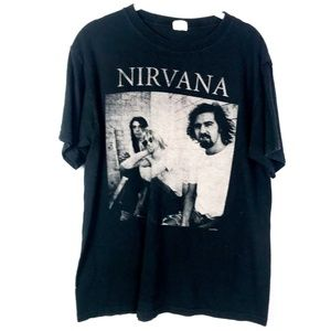 Anvil Nirvana Band Graphic T-Shirt